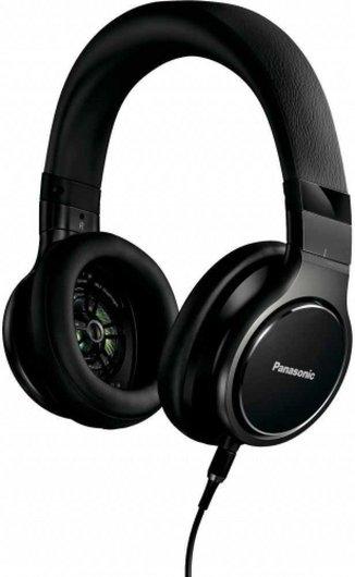 Panasonic RP HD6ME K mikrofonos fejhallgató fekete