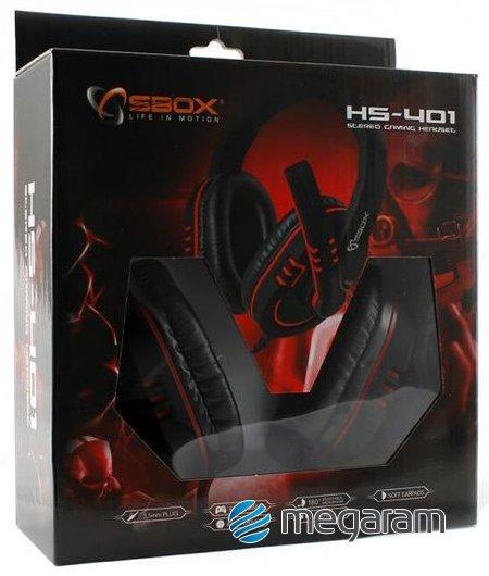 Sbox HS-401 gamer mikrofonos fejhallgató Mikrofonos fejhallgató ... 078ecbd25c