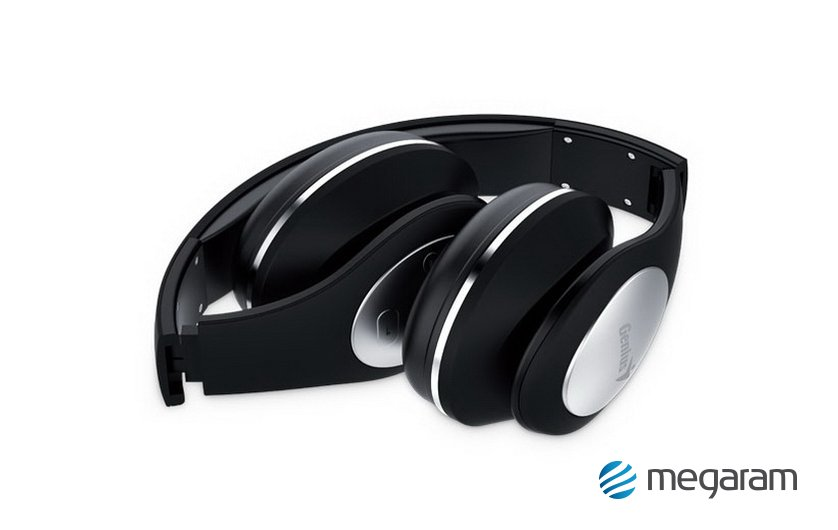 Genius HS-935BT Bluetooth vezeték nélküli mikrofonos fejhallgató fekete  Mikrofonos fejhallgató 42f9fc854f