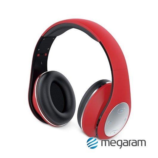 Genius HS-935BT Bluetooth vezeték nélküli mikrofonos fejhallgató piros Mikrofonos  fejhallgató c8ab2dfdd7