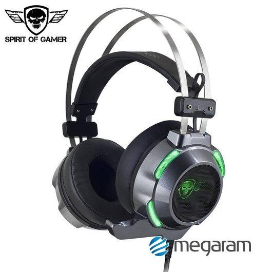 Spirit of Gamer Elite-H30 gamer USB+jack mikrofonos fejhallgató fekete Mikrofonos  fejhallgató 0651bedc7b