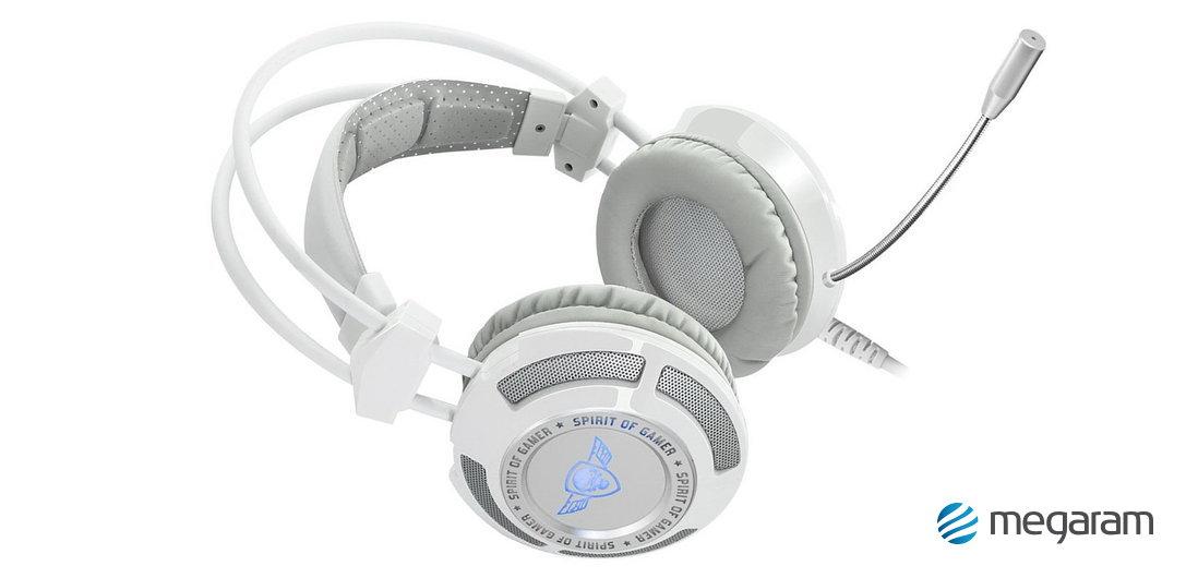 Spirit of Gamer Elite-H70 gamer USB mikrofonos fejhallgató fehér Mikrofonos  fejhallgató bc023b60eb