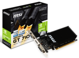 MSI GeForce GT 710 1GB GDDR3 64bit PCI-E videókártya