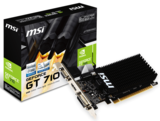 MSI GeForce GT 710 2GB GDDR3 64bit PCI-E videókártya