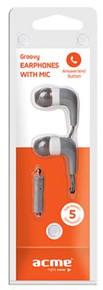 Acme HE-15G mikrofonos fülhallgató szürke Mikrofonos fejhallgató ... 85088b0db2
