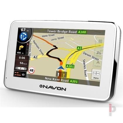Navon N490 Plus 4 3 Gps Navigacio Igo8 Magyarorszag Terkep